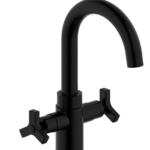 Derengge F-0081-MT Two-Handle Single Hole Bathroom Sink Faucet