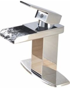 EyeKepper Modern Single Handle Bathroom Sink Faucet