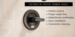 features of perfect shower faucets