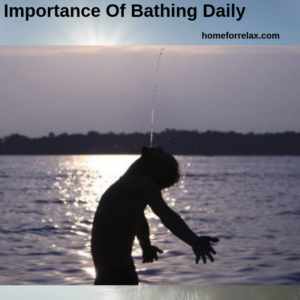 benefits of bathing early morning