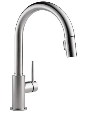 Delta Faucet Trinsic Single-Handle Kitchen Sink Faucet