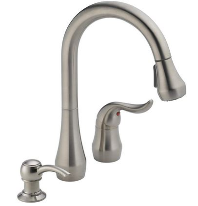 peerless single handle kitchen faucet