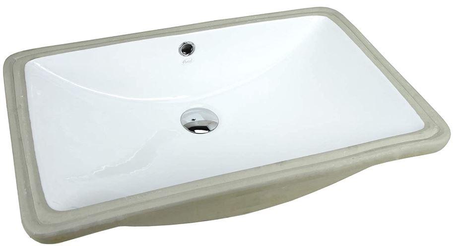 KINGSMAN Rectrangle Bathroom Vessel Sink