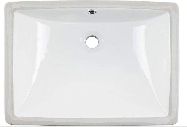 modern undermount bathroom sink